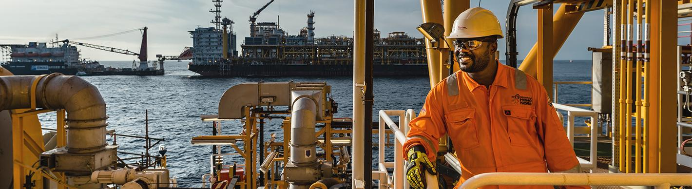 Operator on the Tension Leg Platform , Moho Nord Project, Congo - Exploration & Production - Total
