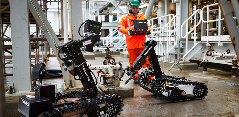 Robotique de surface - Projet Argos - Exploration-Production - Total