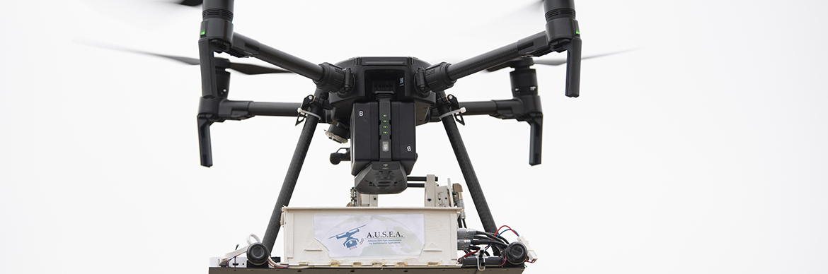 Drone Ausea (Airborne Ultra-light Spectrometer for Environmental Application) - Exploration-Production - Total