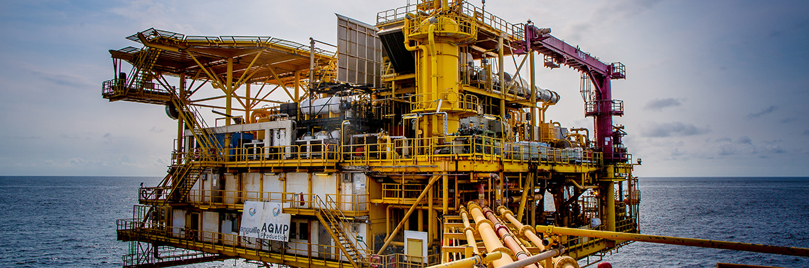 Anguille Platform in Gabon - Exploration & Production - Total