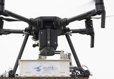 Drone Ausea (Airborne Ultra-light Spectrometer for Environmental Application) - Exploration & Production - TotalEnergies