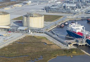 Cameron LNG Gas Terminal, United States of America - Exploration & Production - TotalEnergies