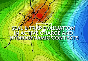 Seal and trap evaluationinactive charge and hydrodynamic contexts