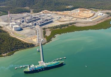 Overview of the Bladin Point LNG plant , Ichthys project, Australia - Exploration & Production - TotalEnergies