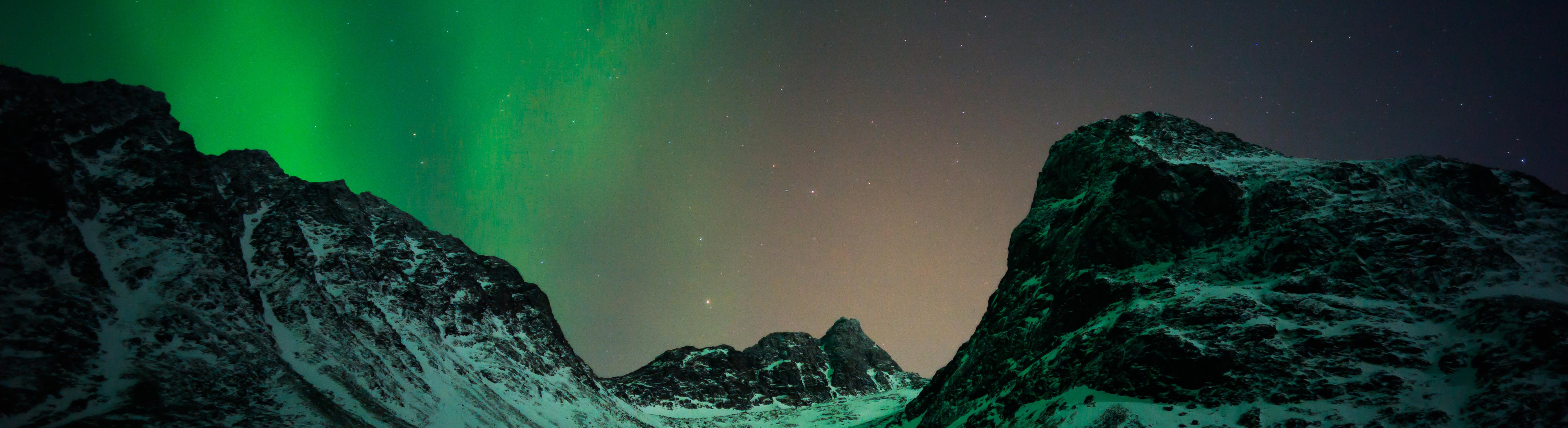 Aurora borealis - Northern Lights - CCUS - Exploration-Production - Total