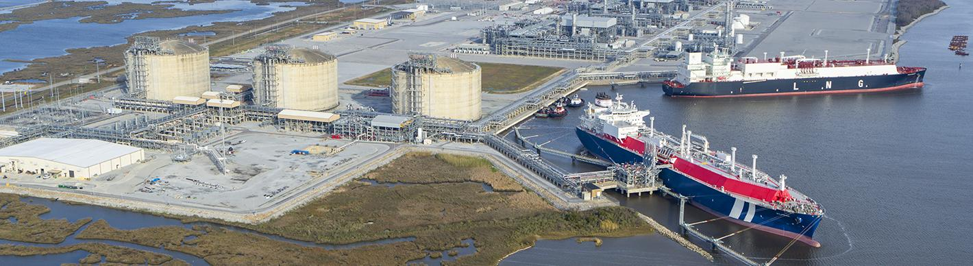Cameron LNG Gas Terminal, United States of America - Exploration & Production - Total