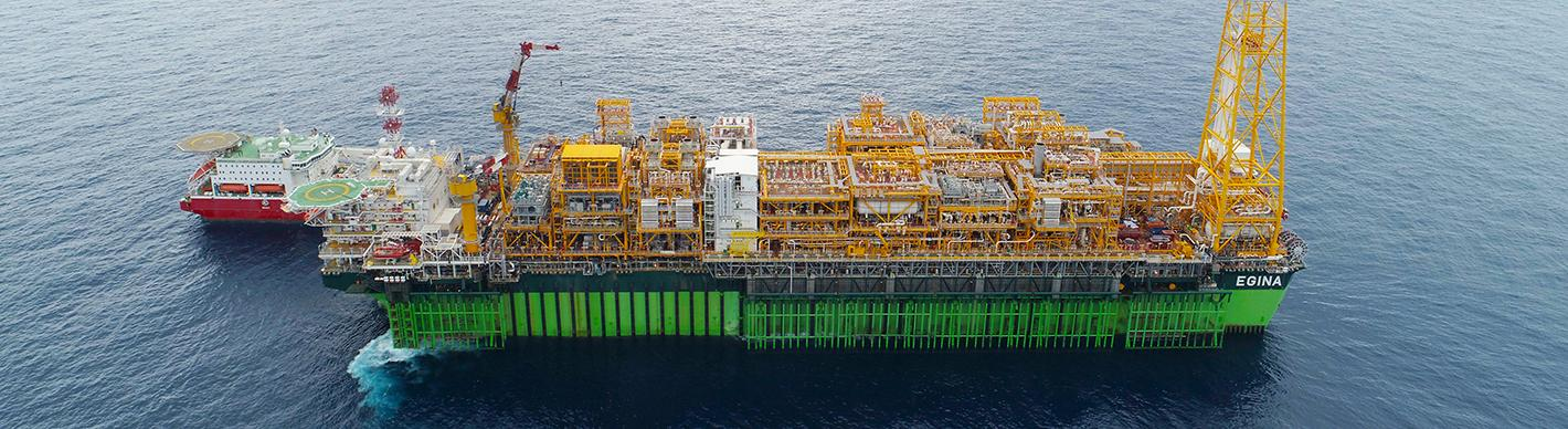 FPSO Egina, Nigeria - Exploration-Production - Total