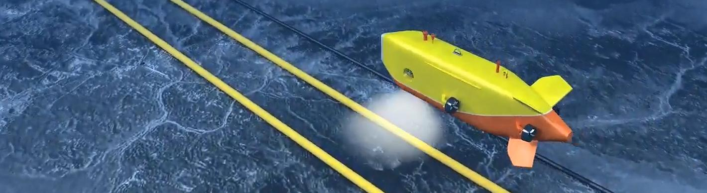 Pipeline inspection by AUV- Offshore profond - Exploration Production - TotalEnergies