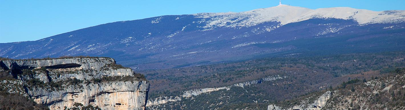 Mont Ventoux Vaucluse - Exploration Production - Total