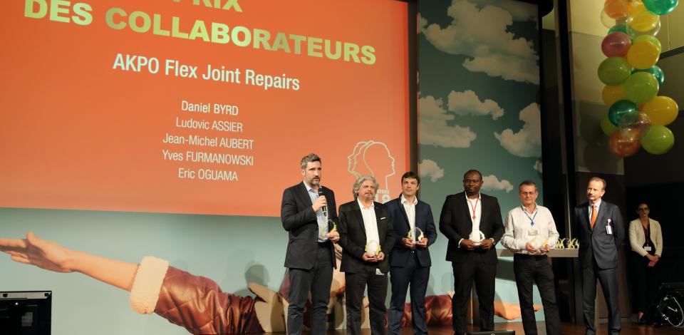 Best Innovators 2018 - Employees' Choice Award - AKPO Flex Joint Repairs - Exploration Production - TotalEnergies