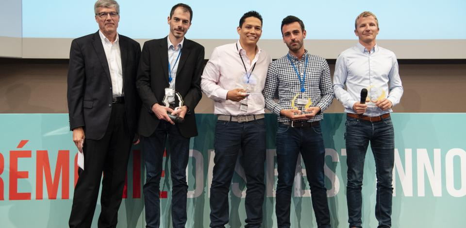 Best Innovators 2018 - First Judges' Award - Ultra-Fast PcRI - Exploration Production - Total
