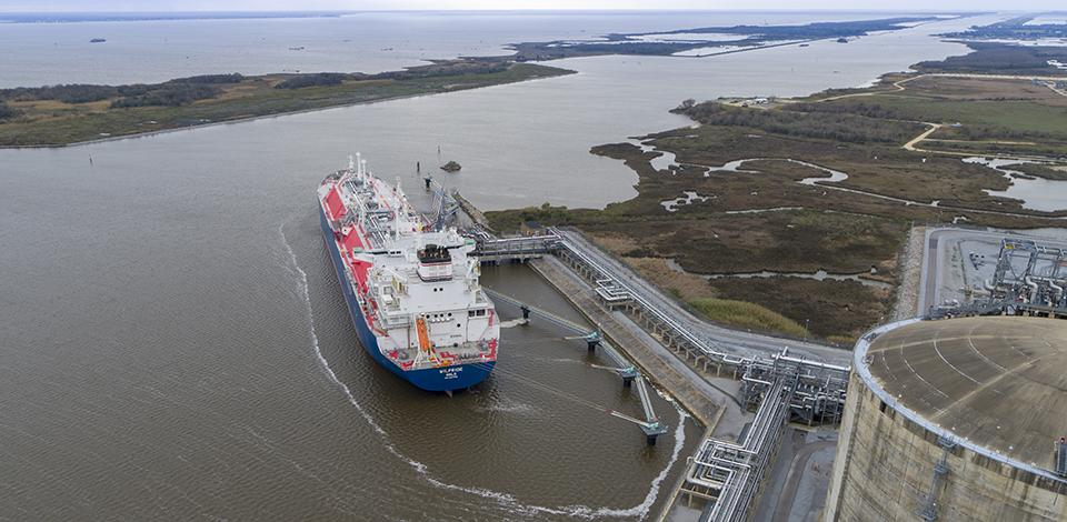 Cameron LNG - Terminal at day - Liquefied natural gas - Exploration & Production - Total