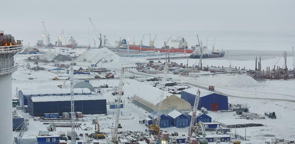 Yamal LNG in the Arctic region - Exploration Production - Total