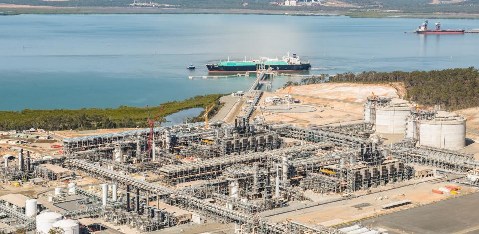 Gladstone LNG, Australia - Unconventional resources - Exploration Production - Total